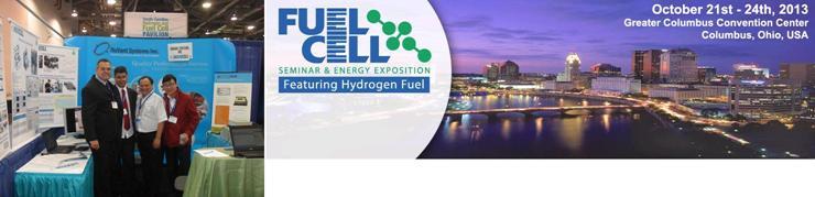 NovoCell divulgou seus produtos no Fuel Cell Seminar em Columbus/OH nos Estados Unidos